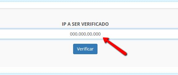 Desbloqueio de IP
