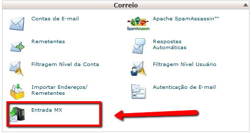 Configurar Google Apps no cPanel