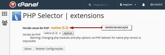 Seletor de PHP ou PHP Selector 02